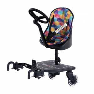 Carut al doilea copil cu volan Easy-Rider V1, pentru plimbari lungi in familie
